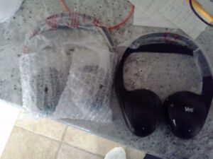 2 BRAND NEW Chrysler wireless headphones