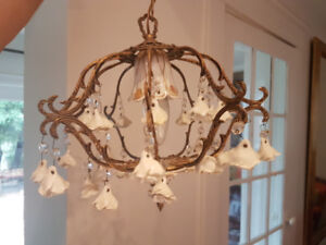 Vintage 1950s - French Chandelier