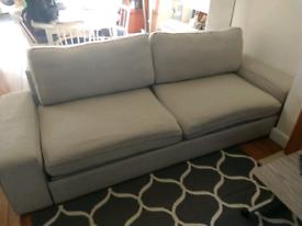 IKEA Kivik 3 Seat Sofa Bed