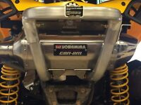 CAN AM EXHAUST