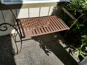 Garden/patio bench
