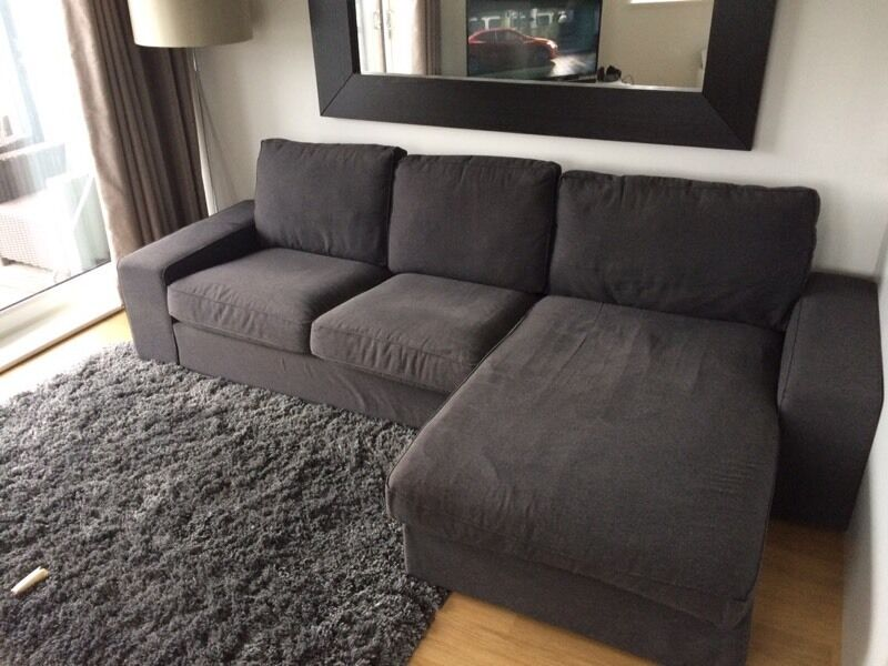 Ikea kivik 2 seater sofa chaise in renfrew for 2 seater chaise sofa for sale
