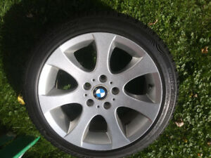 BMW RIMS WITH HANKOOK SNOW TIRES E90 E92