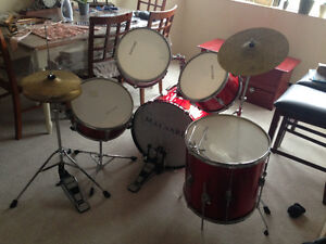 Drums - Red - $150 (price is firm)
