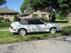 1994 Chrysler Lebaron GTC Convertible