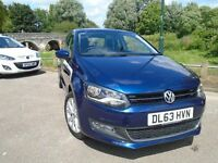 Volkswagen Polo 1.2 SEL 3dr (blue) 2014