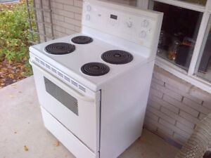 White Stove 30 inch - works perfect