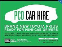 Uber redy pco mini cab rent /hire