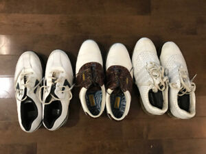 Men's Golf Shoes Size 8.5 for 3 pairs