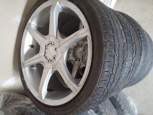 Mags and Tire for Honda,Acura,Toyota,205-40-R17, 4x100,4x114.3