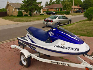 CLEAN 1998 Yamaha GP1200 Waverunner LOW HOURS! TRAILER included!
