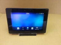 Blackberry dock and tablet