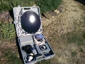 Caravan / Camping Portable Satellite System