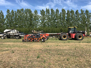 40' Bourgault 4710 Coulter no till drill with 3165 tank
