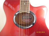 Yamaha Electric Guitar and Roland Amplifier