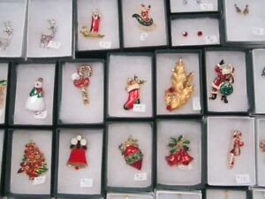 Christmas Brooches Kingston Antique & Artisan Marketplace