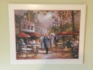 Peinture laminé de Paris au début du siecle