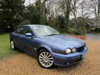 2004 54 Jaguar X-TYPE 2.0d SPORT- TURBO DIESEL 130 BHP 6 SPEED 94K MILES FSH CD
