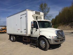 2008 International 4300 LP with 18' Reefer & Allison Automatic