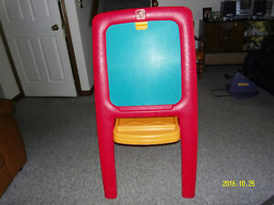 Easel selling for $15.00.