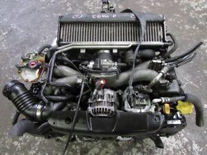 JDM Subaru Impreza WRX Ej205 Engine 5 Speed Transmission 2002-20