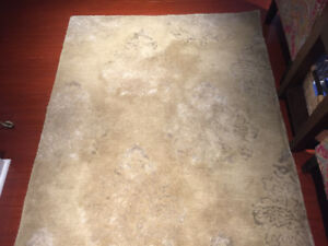 Wool Area Rug - 4ft by 6ft