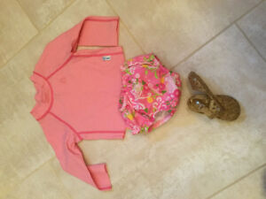 Baby girl swim outfit 6-12 months