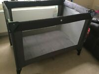 Koochi travel cot and additional matteress