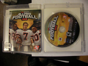 PS3 Game___ All Pro Football_ $10 OBO London Ontario image 3