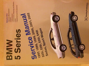 Bentley Repair manuals for BMW 5 series.1997-2002