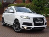 2010 60 Audi Q7 3.0TD 245ps Tiptronic Quattro S Line..7 SEATS..PANORAMIC ROOF