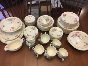 Set of antique dishes-Johnson brothers made in England
