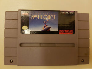 Final Fantasy Mystic Quest SNES Super Nintendo