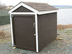 new snow blower shed