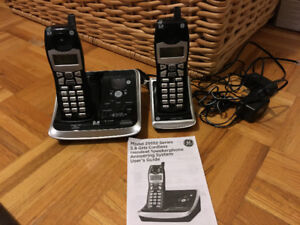 GE Handset phones and Answering machine