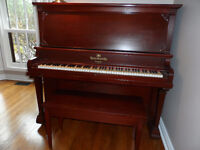 Beautiful Heintzman Upright Piano, Incl.Bench  Excellent Quality