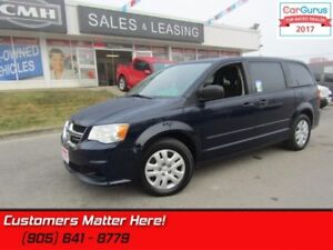2015 Dodge Grand Caravan SE  CVP, POWER GROUP,  REAR STOW N GO