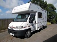 Compass Avantgarde 100 Four Berth Motorhome with End Kitchen