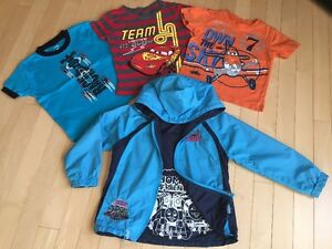 Thomas the train Jacket and McQueen T-shirt  Size 3t