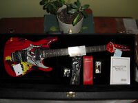 Joe Satriani 20th anniver electric guitar silver surfer MINT NEW