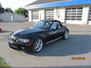 BMW Z3 1998  cuir  2.8litre prop depuis 9 ans