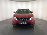 2015 NISSAN QAHQAI N-TEC + DCI DIESEL 1 OWNER SERVICE HISTORY FINANCE PX WELCOME