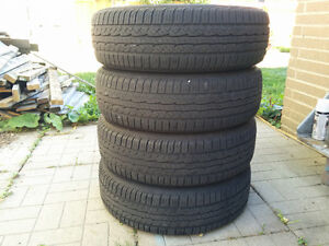 (4) Used Kumho Solus KR21 Tires + More! - $150