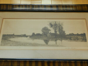 Antique 1890 Lithograph in Grain Painted Frame Kitchener / Waterloo Kitchener Area image 4