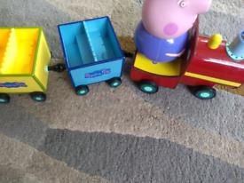 Peppa Pig Grandad train set