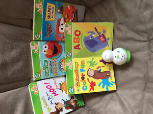 Leap Frog Tag Junior reader and books