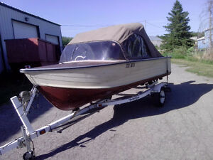 14.6 ft aluminum boat for sale