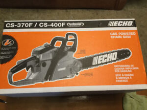 Gas powered chain saw  new in box
