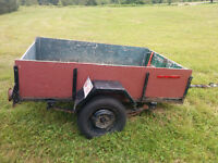 4 1/2 x 7 1/2 utility trailer for trade