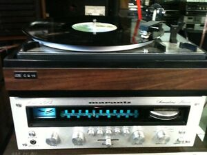 VINTAGE AUDIO LOVERS SYSTEM with 5 FREE ALBUMS